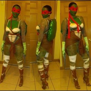 Sexy Ninja Turtle Halloween Costume